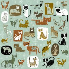 ©Richard Faust - 'Cat Pattern' www.richardfaust.com