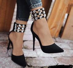 Wow! Those shoes!