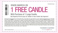 Warm up with our FREE Large Candle Offer! B1G1 In-Store & Online code BUNNY17 Click the photo to shop today, ends 3/29