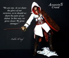 Altair from Assassin's Creed is an atheist. Atheist