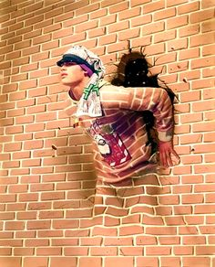 35 Stunning Examples of Street Art - Bored Art art art graffiti art quotes Murals Street Art, 3d Street Art, Amazing Street Art, Street Art Graffiti, Street Artists, Wall Street, 34 Street, Street Work, Graffiti Artwork