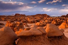 """Goblin Valley State Park, Utah (Utah's another state that you need to take your time and see all the wonderful natural attractions, nowhere else in the world, """"other than S."""", will you find such an illustrious state) Goblin Valley Utah, Canon, Visit Utah, Arizona, Beautiful Nature Wallpaper, Vacation Places, Utah Vacation, Natural Wonders, Nature Photos"""