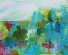 "Saatchi Art Artist Malu Tan; Painting, ""After the Rain II"" #art"