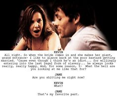 """27 Dresses. One of my favorites scenes :) """"that's MY favorite part!"""""""