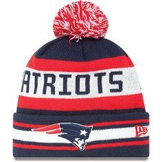 b9f9425554145 Patriots Winter Hat Pom Pom