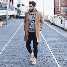 "magic_fox on Instagram: ""Just walking.. #ck #coat #fall"""