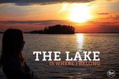 The lake is where I belong. #PureMuskoka #Muskoka