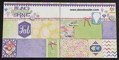 (pin 3 of 3)... layout by Dana Kessler using CTMH Kaleidoscope paper