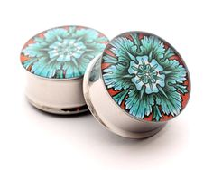 Filigree STYLE 3H Picture Plugs gauges - 16g, 14g, 12g, 10g, 8g, 6g, 4g, 2g, 0g, 00g, 7/16, 1/2, 9/16, 5/8, 3/4, 7/8, 1 inch on Etsy, $17.99
