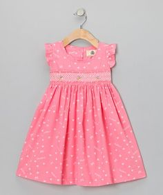 Another great find on #zulily! Pink Heart Dress - Infant & Toddler #zulilyfinds