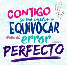error perfecto ❤