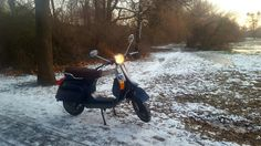 Just for a picture.. Vespa pk 50 XL