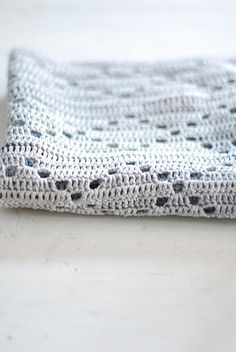 crochet--lovely soft blanket.  would like to track down/reverse engineer this pattern when I have time :)