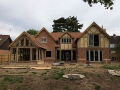 On Site - Border Oak - oak framed houses, oak framed garages and structures.