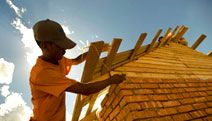 Habitat for Humanity's Global Village Program - I spend one vacation a year traveling & building houses.