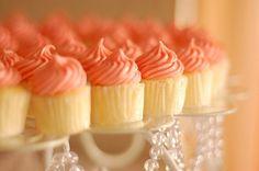 Coral Cupcakes