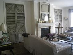 Lovely Antique French doors.