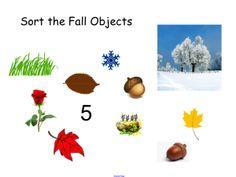 Sort Fall Objects - SMART notebook www.smartboardideas.com