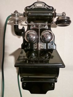 L.M.Ericsson wall telephone. AB 1305. Year 1912