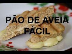 Pão de Aveia feito na frigideira! - YouTube