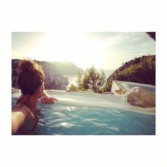 Sunset ✨ #ibiza #spa #summer #gopro #naxamena por: stefy_aragon