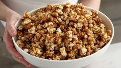 Caramel Corn Clusters Recipe | How to make Caramel Corn Clusters - Snacks