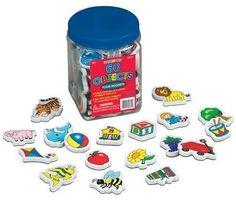 Lauri Foam Magnets - Objects '5332 - Novelty & Gag Toys (PlayMonster)