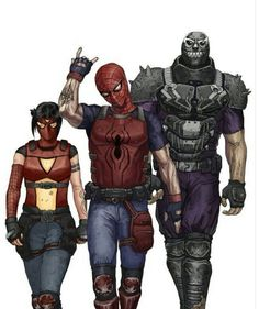 Spider-Man Army of Two style