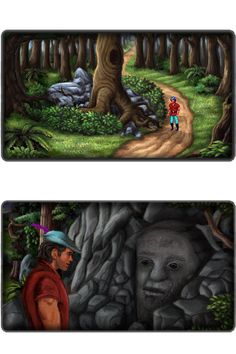 King's Quest II - Romancing The Stones v3.1 Enhanced Edition - Free Download - AGDInteractive Studios