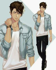 Anime Guys 4 images about boy on We Heart It - Hot Anime Boy, Cute Anime Guys, Anime Sexy, Anime Boys, Anime Style, Character Inspiration, Character Art, Fashion Inspiration, Boy Drawing