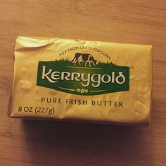 Who needs green beer when you have Irish butter?! This is what a happy st patty's day looks like, folks  #Irish #stpatricksday #green #stpattysday #cleaneating #eatrealfood #weightloss