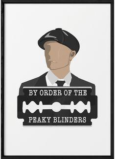 Peaky Blinders Tv Series, Peaky Blinders Poster, Peaky Blinders Quotes, Cillian Murphy Peaky Blinders, Digital Portrait, Digital Collage, Peaky Blinders Merchandise, Beer Logo Design, Gemini Facts