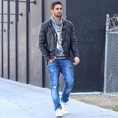 leather jeans bulges fetish : Photo