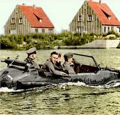 World War II — dieselfutures: Volkswagen Schwimmwagen Ferdinand Porsche, Jeep, Kdf Wagen, Amphibious Vehicle, Germany Ww2, Vw Vintage, Ww2 Tanks, German Army, Armored Vehicles
