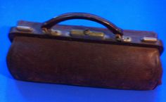 Americana, Leather, small, Doctor's personal suitcase, 1800 #Americana