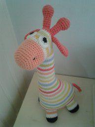 Hæklet Giraf ;o)