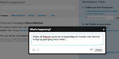 10 trin til at komme hurtigt og godt i gang med Twitter