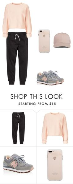 """""""Untitled #300"""" by doda-laban on Polyvore featuring Miss Selfridge and New Balance"""