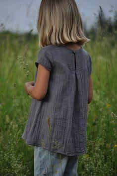 luftig in den Sommer - Tunika Tessa, Bluse, Musselin