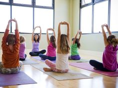 Yoga for Kids!  18 try-at-home yoga poses for children ages 5 and up