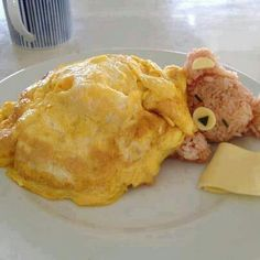 Rice teddy bear with egg blanket