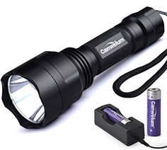 Special Offers - Canwelum Compact Cree LED Strobe Tactical Flashlight Self-defense and Long-shot LED Flash Light (A Complete Set with Battery and Charger: Bigger Battery Power Capacity & with Protective Board) - In stock & Free Shipping. You can save more money! Check It (August 15 2016 at 03:56AM)…
