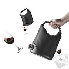 A stylish and easy way to take box wines on the go! Baggy Wine Coat: This is exactly my the IYC crew needs! :-)