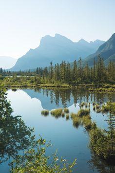 Sunrise over Banff. [OC] (1375x2048) - Cli33ord - #travel #photography #adventure #amazing #beautiful
