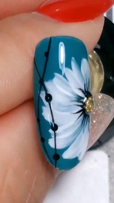 nail art designs easy \ nail art designs - nail art - nail art videos - nail art designs for spring - nail art designs easy - nail art designs for winter - nail art diy - nail art designs summer Cute Nail Art, Nail Art Diy, Easy Nail Art, Cute Nails, Simple Nail Art Videos, Sharpie Nail Art, New Nail Art, Pretty Nails, Nail Art Designs Videos