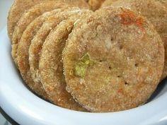 chicken pot pie dog biscuits