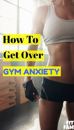 great tips for getting over gym anxiety! learn how to have more confidence in the gym!