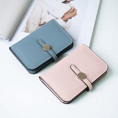 アクセサリー - バッグ - シンプルミニウォレット 財布 ウォレット 二つ折り コンパクト パステル シンプル ミニ ミニ財布 レディース