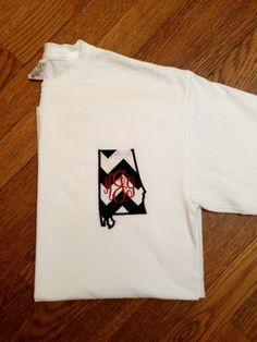 Alabama Monogrammed Pocket T-Shirt
