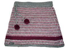 Everest Designs Women's S15202 Jenny Mini Skirt, Purple, Small